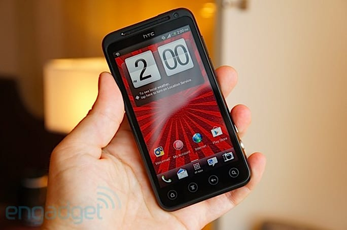 HTC EVO V 4G (Virgin Mobile USA) hands-on