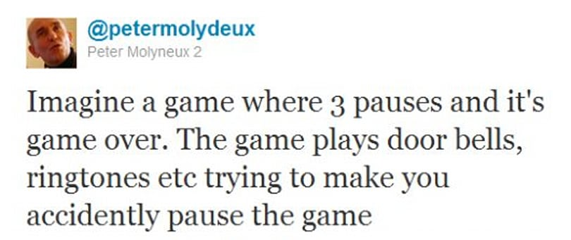 Parody tweeter 'PeterMolydeux' once applied for work at Lionhead