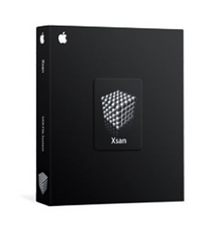 Software Update: Apple Xsan 1.4.1 Filesystem and Admin