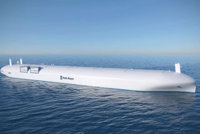 Rolls-Royce 的遙控貨運船預計於 2020 年推出