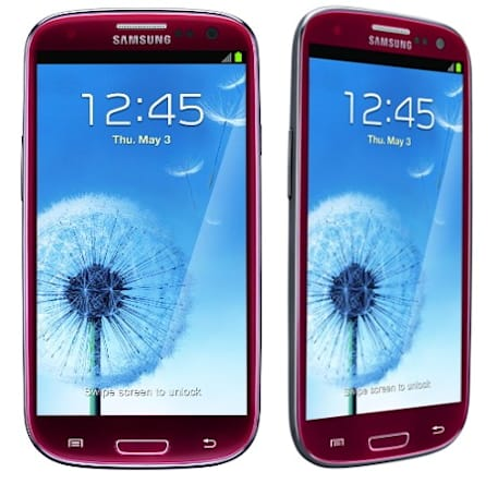 AT&T scores red Galaxy S III, pre-orders start July 15th