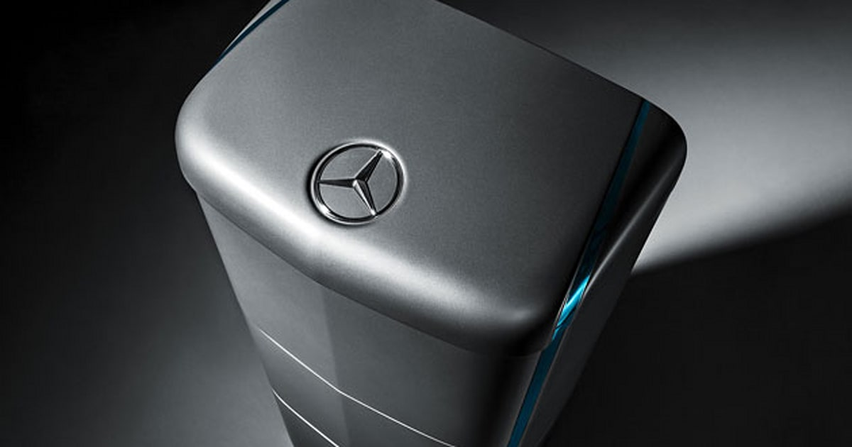 Mercedes Benz Takes On Tesla With A Home Battery Of Its Own