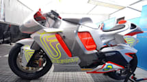 2012 MotoCzysz E1pc may set an e-motorbike speed record, our hearts afire
