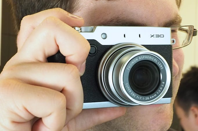 Fujifilm packs a ton of power in the X30 point-and-shoot