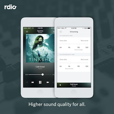 Rdio app gets iOS 8 and CarPlay support, upgraded sound across subscriptions