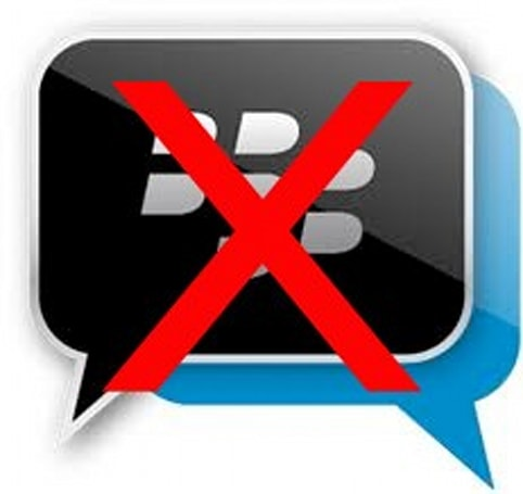Users reporting BBM down, joins Instagram in being less social (update: RIM's on it)