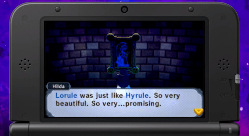 Zelda: A Link Between Worlds' dark world gets a name and citizen