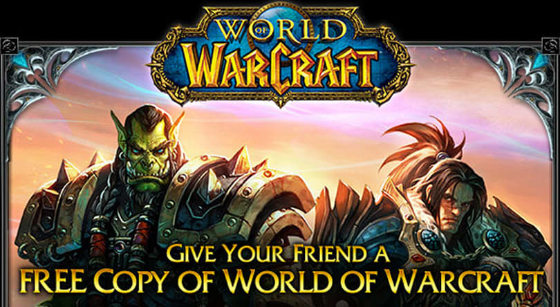 Veteran WoW players given free copies of the game to gift to new players