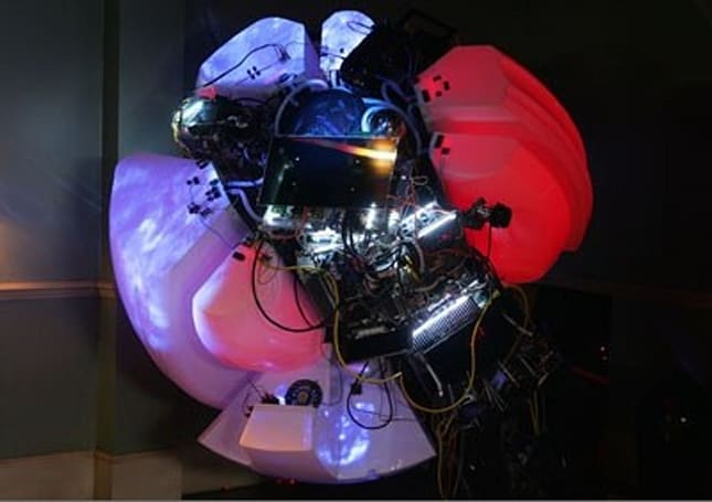 Mechanical heart built from Sony gear still pines for AIBO