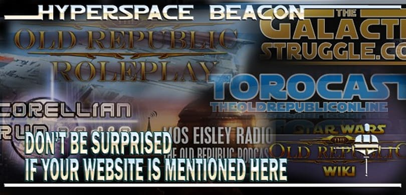 Hyperspace Beacon: Don't be surprised if your website is mentioned here