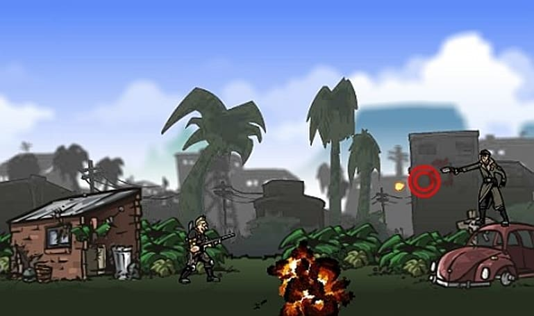 Mercenaries 2 gets a Flash version