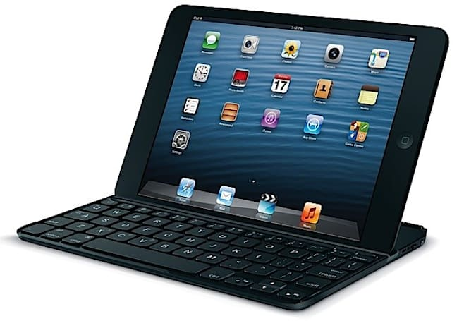 Logitech's Ultrathin Keyboard Cover mini brings tactile typing to the iPad mini for $80
