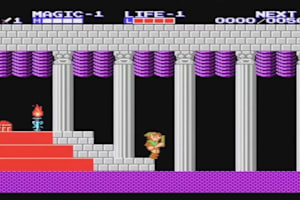 Zelda 2: The Adventure of Link (Gameplay)