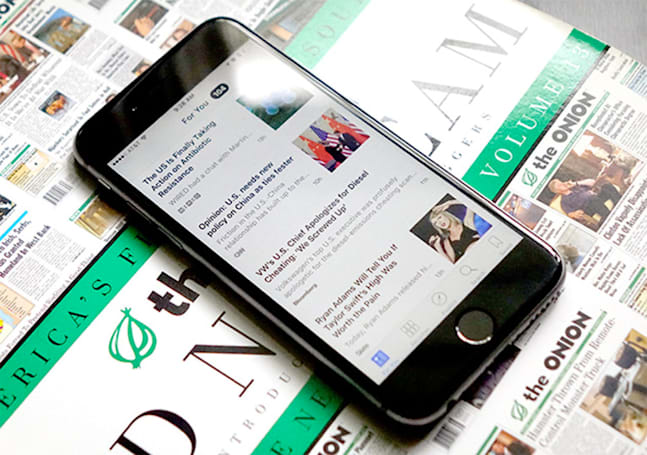 Ads on Apple's news app will soon look like normal articles