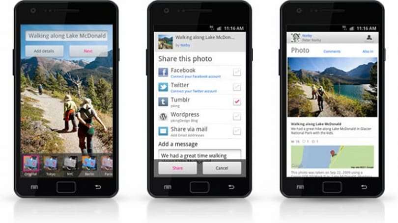 Flickr unveils Android app, introduces real-time Photo Session feature (video)