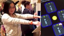 動画:パックマンをカラダで操作、Moff Bandで遊べる「PAC-MAC powerd by Moff」 をプレイしてきた!
