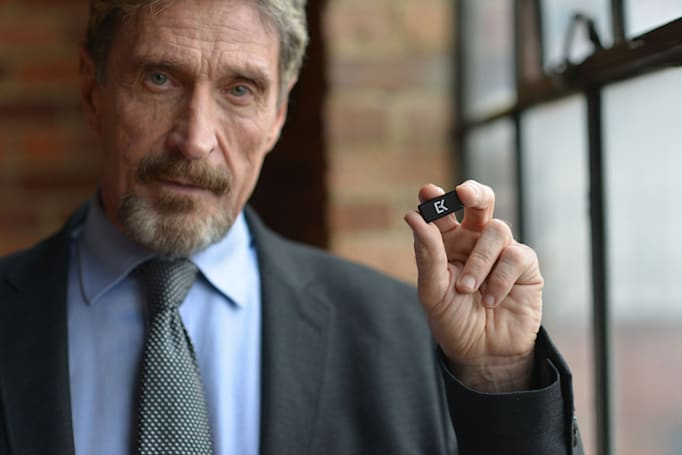 John McAfee on his new startup and why he should be president