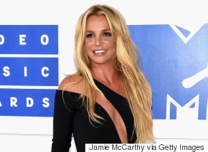 Britney Spears Returns To The VMAs In Racy Versace Dress