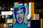 Old Navy's machine turns your selfies into giant balloon art