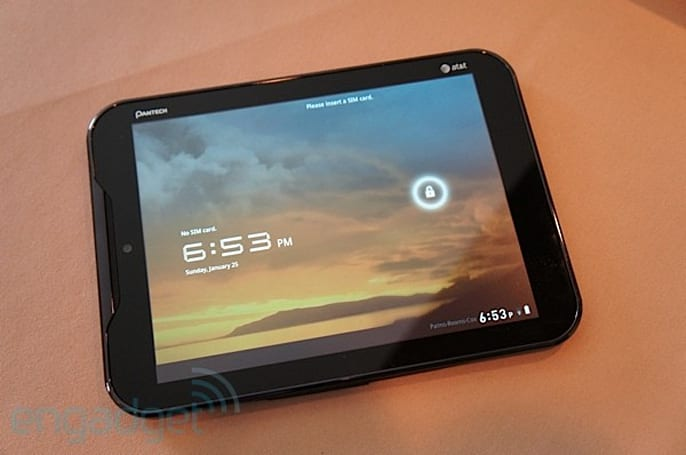 AT&T Pantech Element hands-on at CES 2012 (video)