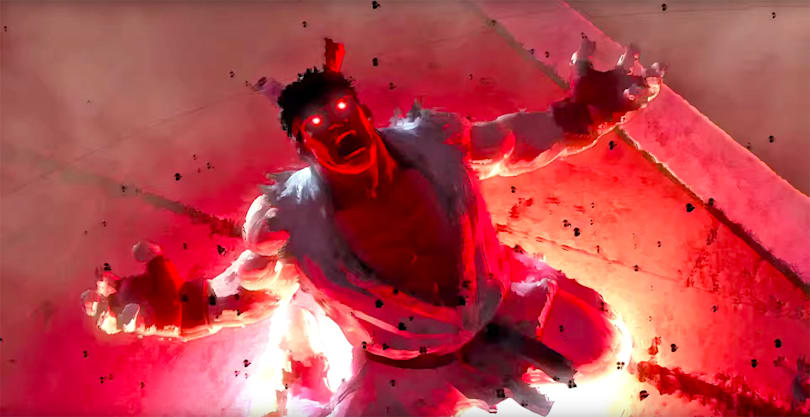 Capcom releases the most badass 'Street Fighter 5' trailer yet