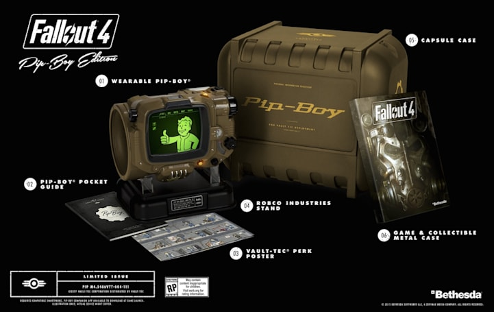 Sorry, Bethesda can't make any more 'Fallout 4' Pip-Boys