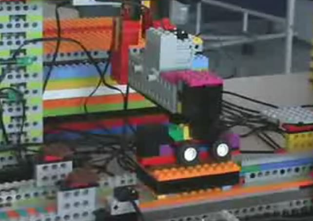 German robotics group crafts LEGO factory to build... LEGO cars