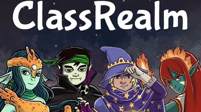 ClassRealm MMO rewards kids for being good students