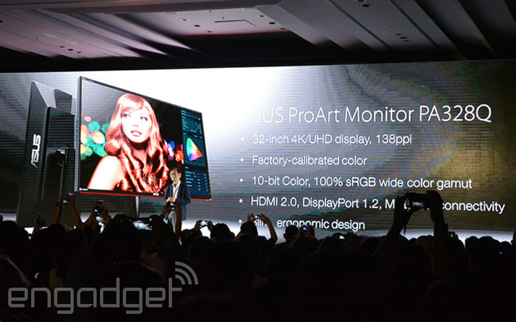 Here's a semi-professional 32-inch 4K monitor from ASUS