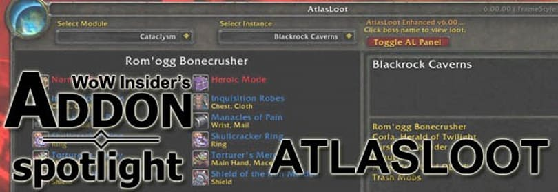 Addon Spotlight: Atlasloot v6 offers more than boss loot