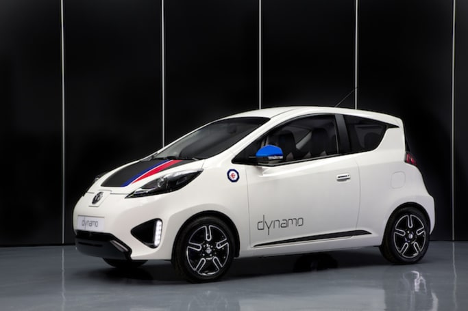 MG's Dynamo concept is its first fully electric car