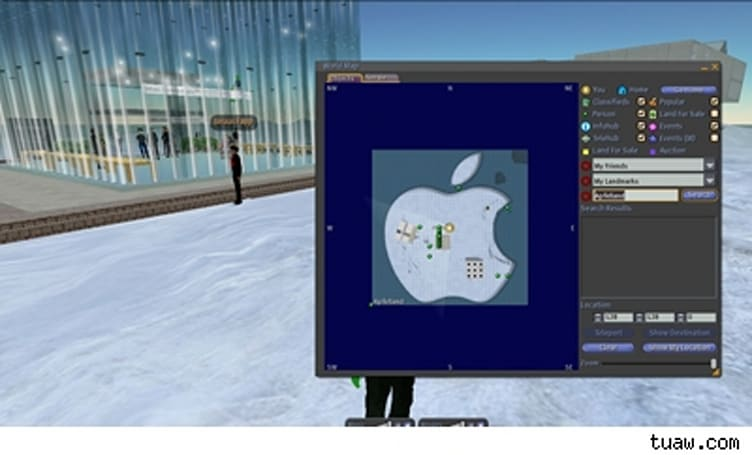 Macworld coverage in Second Life