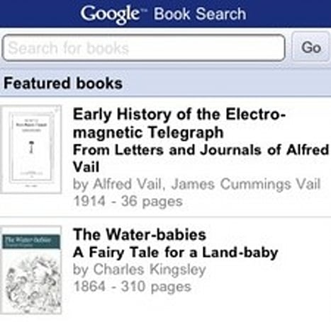 Google releases Books browser for iPhone