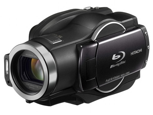 Hitachi tries again with DZ-BD9H hybrid Blu-ray and 60GB Full HD camcorder