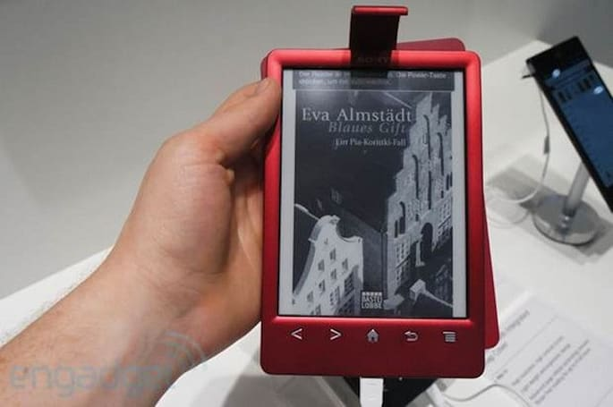 Sony's PRS-T3 e-reader hands-on