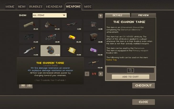 User-created TF2 items bring in up to $47,000 for some Steam members