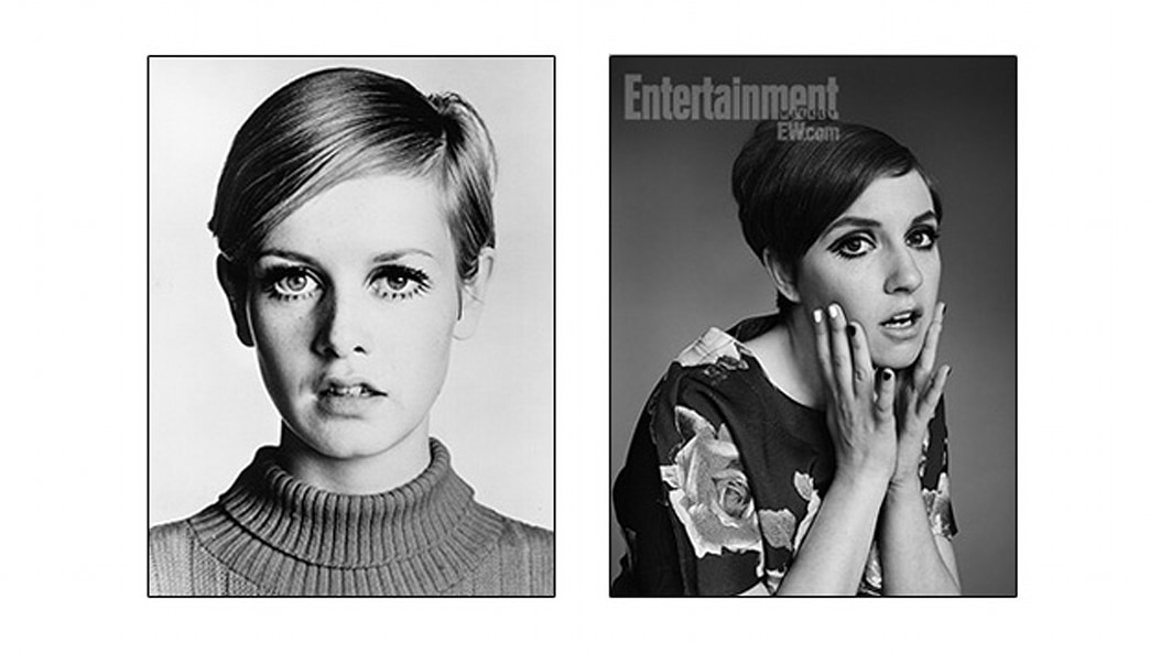 Lena Dunham Gets Twiggy With It on the Cover of Entertainment Weekly