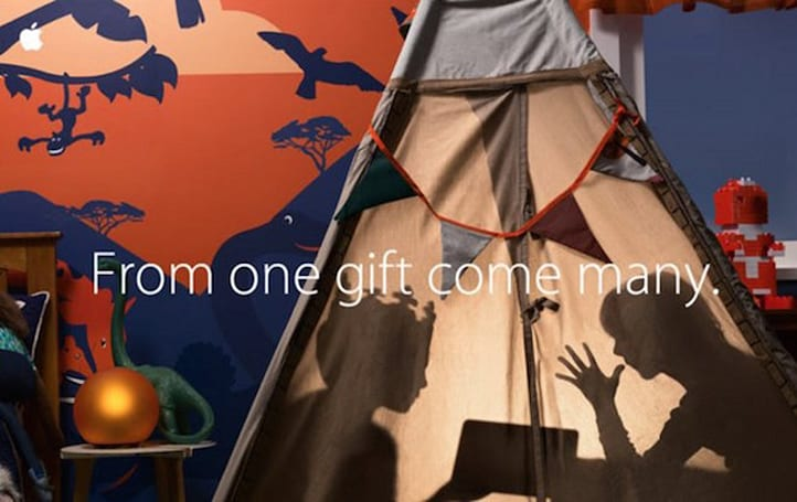 Apple email touts Black Friday gift ideas