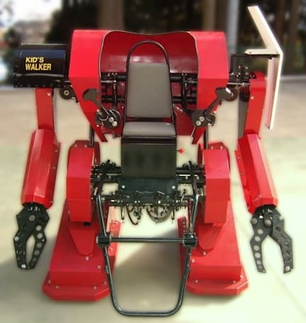 Kid's Walker fulfills your child's dream of piloting a kickass robot suit (video)