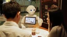 Pepper the robot gets a job at Pizza Hut