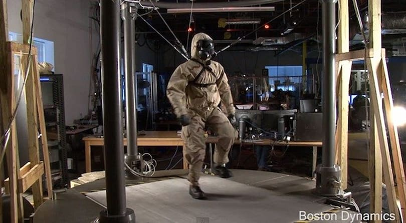 Boston Dynamics' Petman robot successfully wears clothes (video)