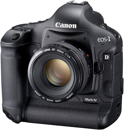 Canon EOS-1D Mark IV announced: 16.1 megapixels, 45-point autofocus, and extreme ISO ranges of its own