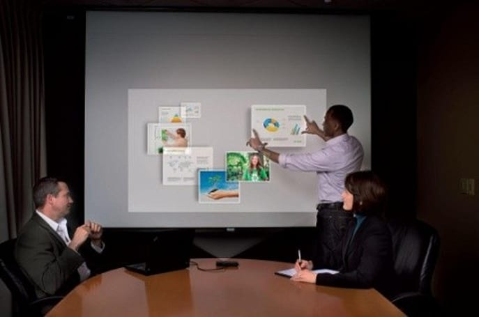 Microvision's PicoMagic apps bring touch interactive, 3D mobile displays to your pico projector
