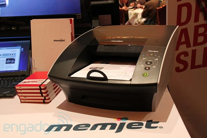 Memjet: ink-on with the world's fastest printer