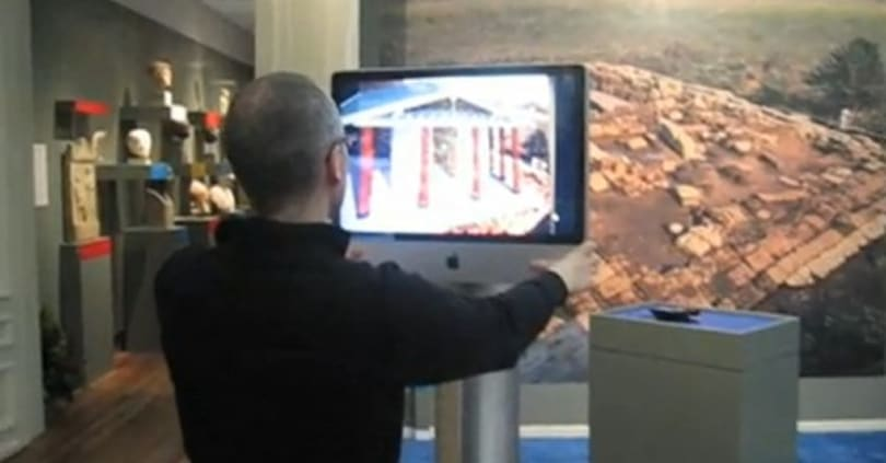 Augmented reality on hand at museum in the Netherlands, threatens to make learning cool