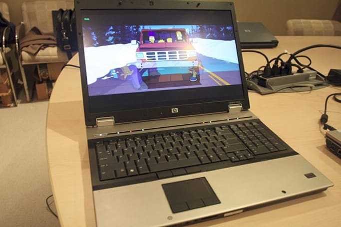 HP EliteBook 8730w gets the hands-on treatment