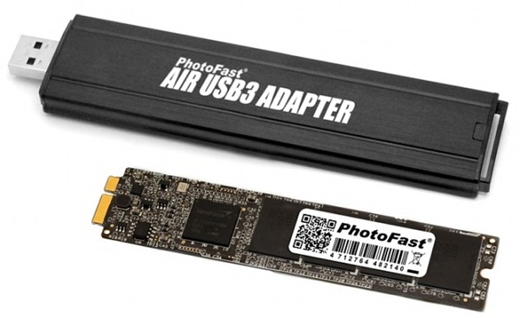 Apple forces PhotoFast to abandon 256GB upgrade kit for MacBook Airs