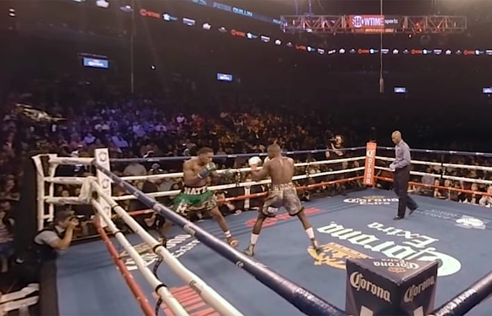 Watch a full boxing match in VR for the first time