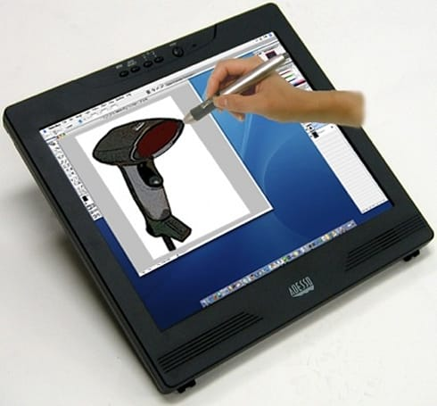 Adesso CyberTablet M17: the monitor / tablet for Macs and PCs