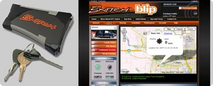 BlackLine's GPS Snitch tracks straying partner's joyrides